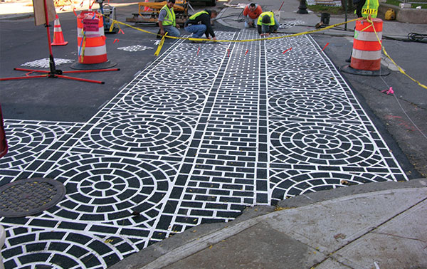 Decorative Paving Company : Decorative and stamped asphalt ri ma narragansett